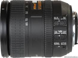 Nikon 16-85mm DX f/3.5-5.6