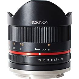 Rokinon 8mm f/2.8 Fisheye II