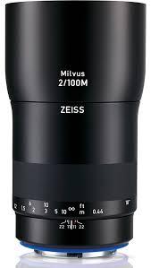 Zeiss Milvus 100mm f/2.0 Macro