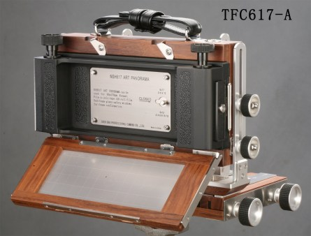 Shenhao TFC617-A - Back with Medium Format Film Back