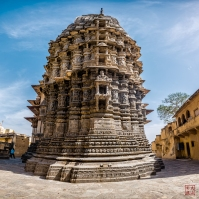 A Pano image from the Temple's backside