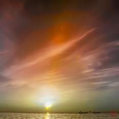 IR Faux Color Sunrise