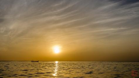 Sun Gentle on the Horizon