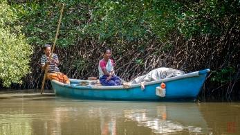 Fishermen Passing Thru
