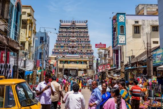 West Gate of Thillai Nataraja Temple