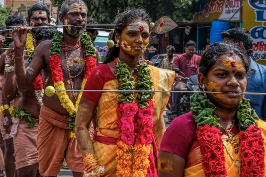 On the March to the Temple