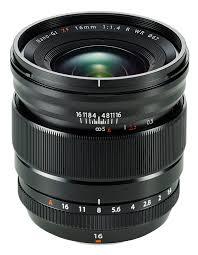 Fujifilm 16mm f/1.4