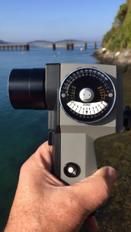 Pentax Spot Meter V with Zone System Template