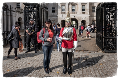JDR with the Horse Guards