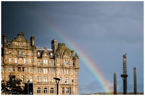 Digital: Rainbow Over thw Balmoral