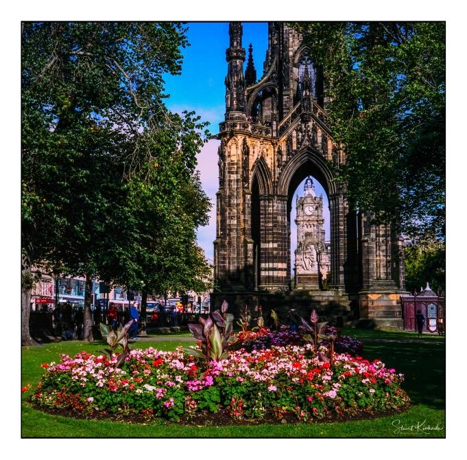 Film Mamiya C330: Edinburgh, Scotland