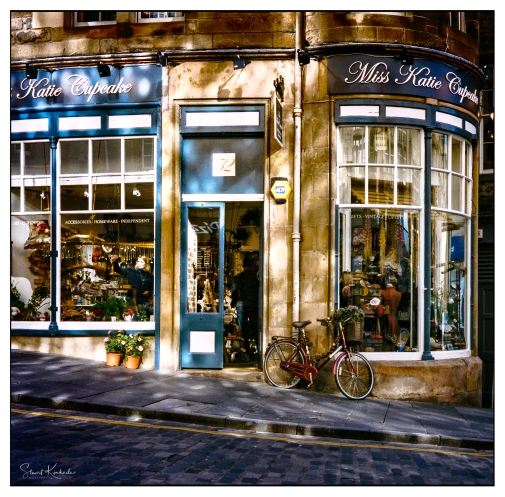Film Mamiya C330: Edinburgh, Scotland