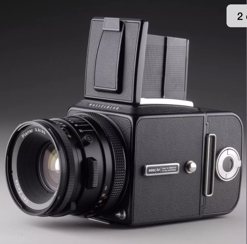 80mm lens - Front Right View