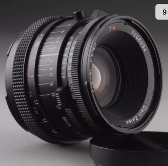 80mm Lens Front